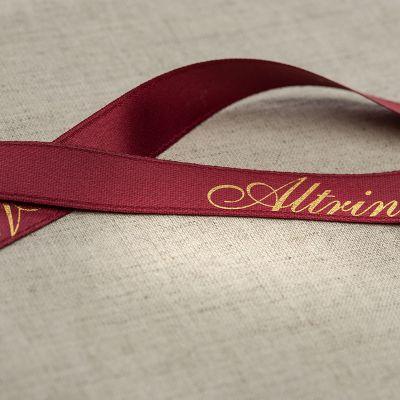 Owned satin ribbon